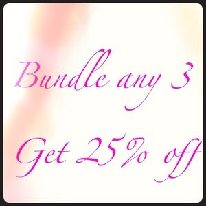 Tops - SALE- get 25% off when you bundle 3 or more items